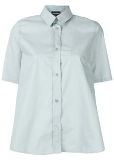 Armani chest pocket oversized shirt