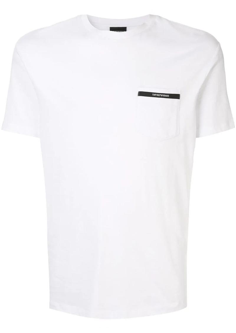 Armani chest pocket T-shirt