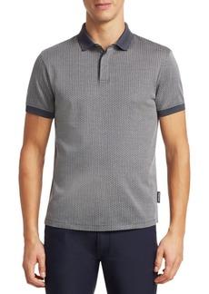 Armani Chevron Polo Shirt
