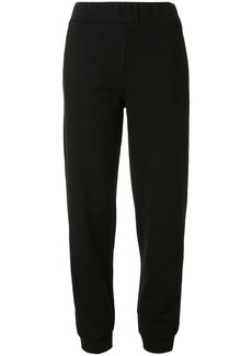 Armani Chines New Year logo patch joggers