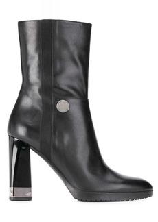 Armani chunky-heel boots
