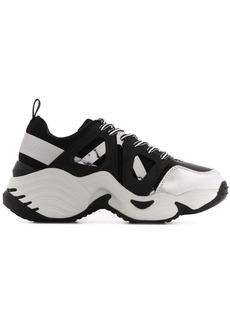 Armani chunky low top sneakers