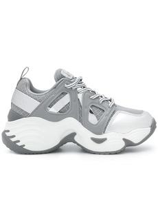 Armani chunky-sole low-top sneakers