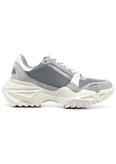 Armani chunky-sole sneakers
