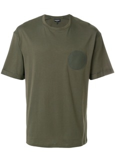 Armani circle patch T-shirt