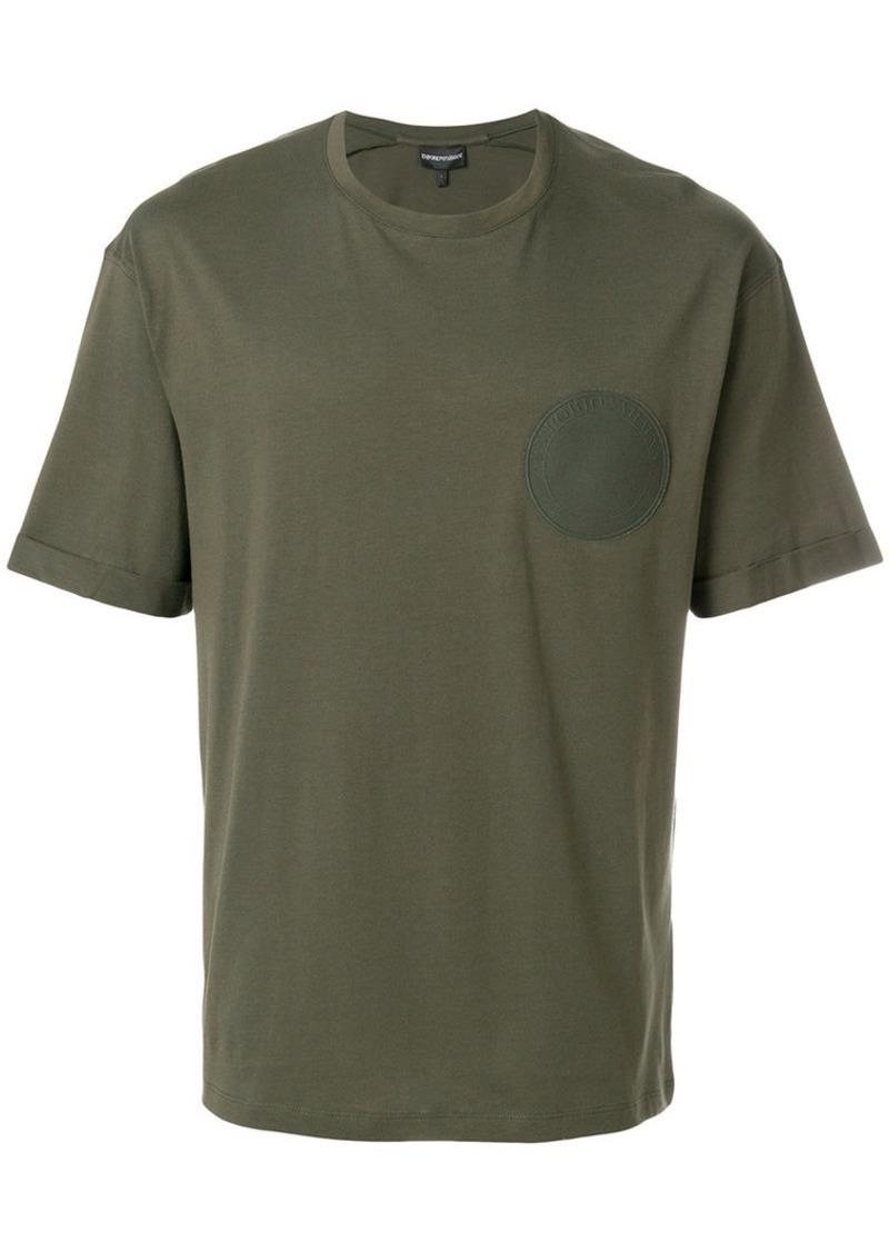 Armani circle patch T-shirt