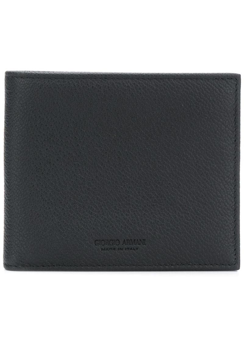 Armani classic bifold wallet