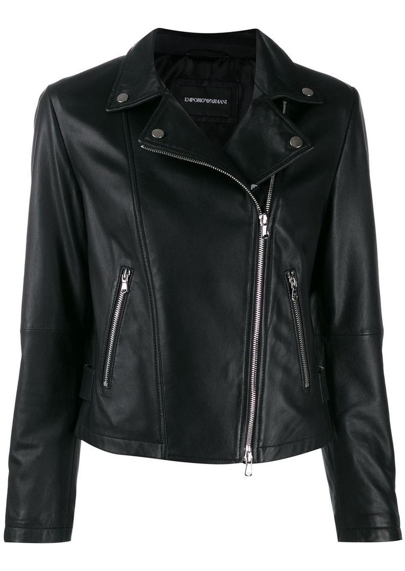 Armani classic biker jacket