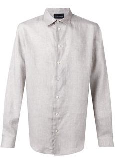 Armani classic button up shirt