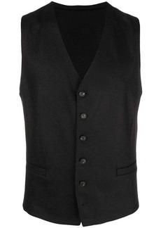Armani classic button vest