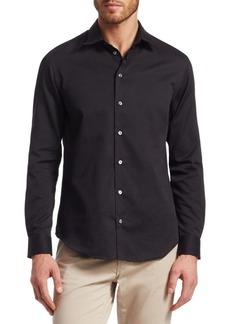 Armani Classic Cotton Button-Down Shirt