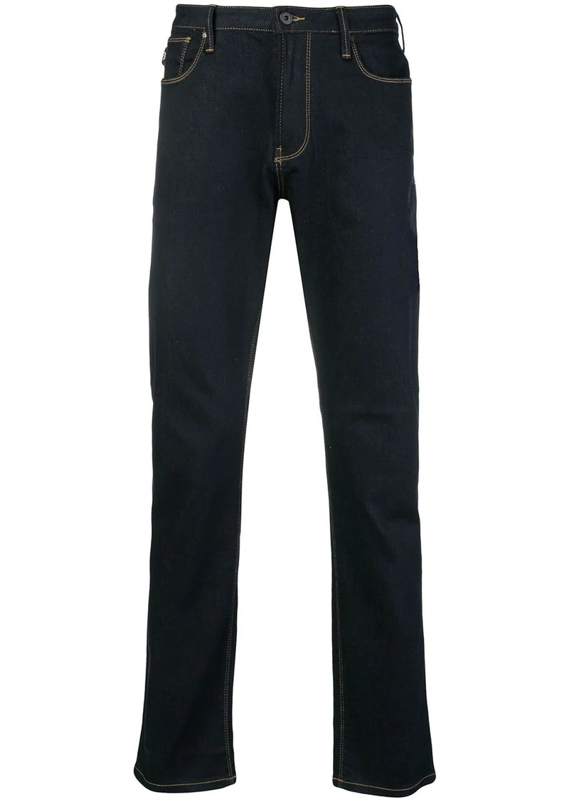 Armani classic dark jeans