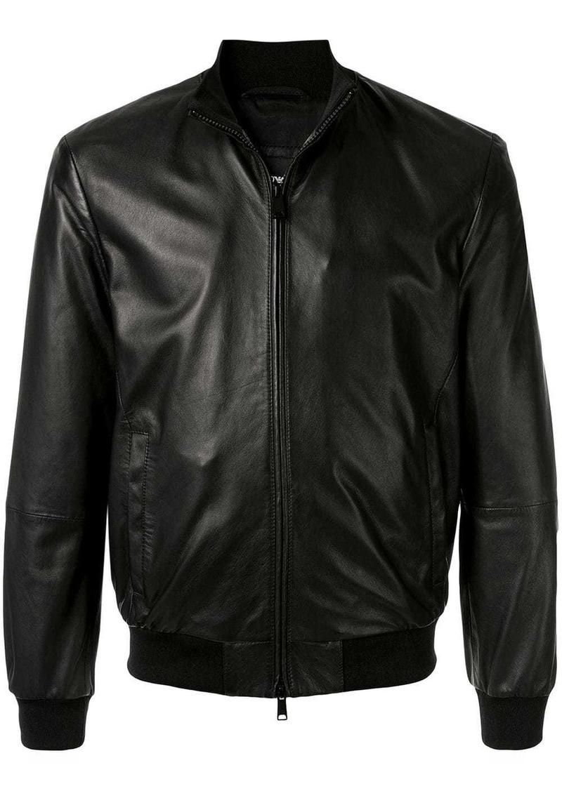 Armani classic flight jacket