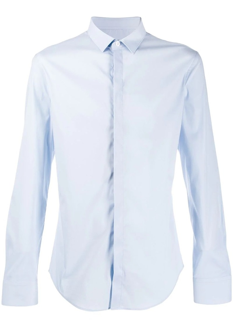 Armani classic shirt with concealed fastening