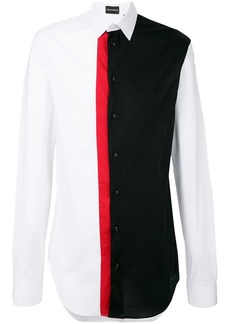 Armani colour block shirt