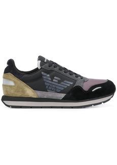 Armani colour block sneakers
