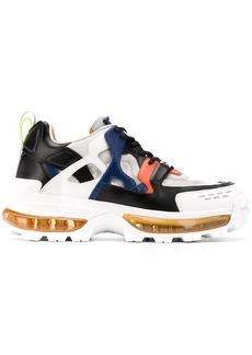 Armani colour blocked chunky sneakers