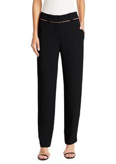 Armani Constrast Stripe Suit Pants