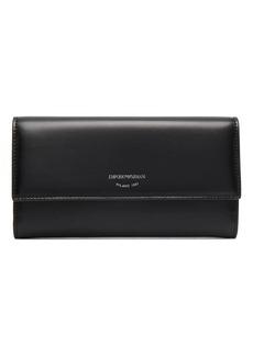 Armani continental wallet