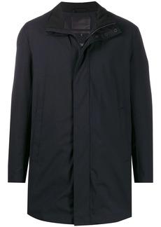 Armani contrast lining coat