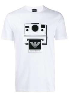 Armani contrast logo T-shirt