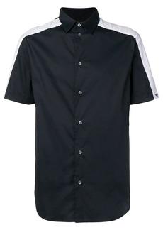 Armani contrast side panel shirt
