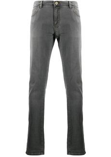 Armani contrast stitching jeans