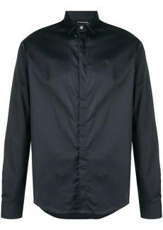 Armani contrast stripe slim-fit shirt