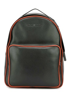 Armani contrast trimmed backpack