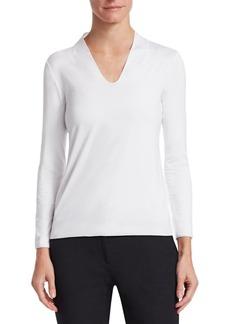 Armani Core Jersey Long Sleeve Top