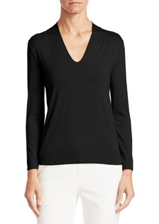 Armani Core Jersey Long Sleeve Top