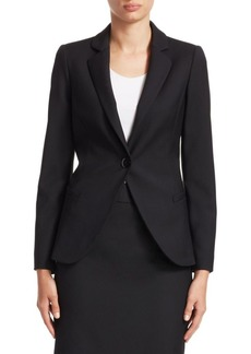 Armani Core One-Button Blazer