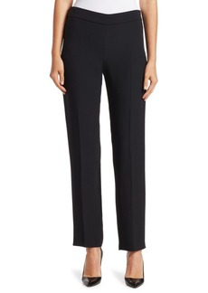 Armani Core Silk-Blend Cady Pants