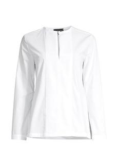 Armani Cotton Poplin Tunic