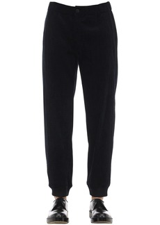 Armani Cotton Stretch Jogging Pants
