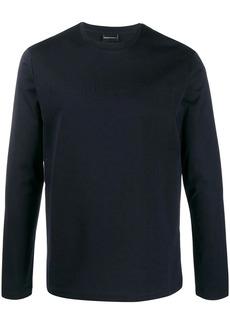 Armani crew-neck logo sweatshirt