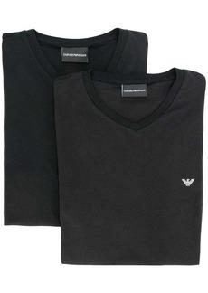 Armani crew neck logo T-shirt