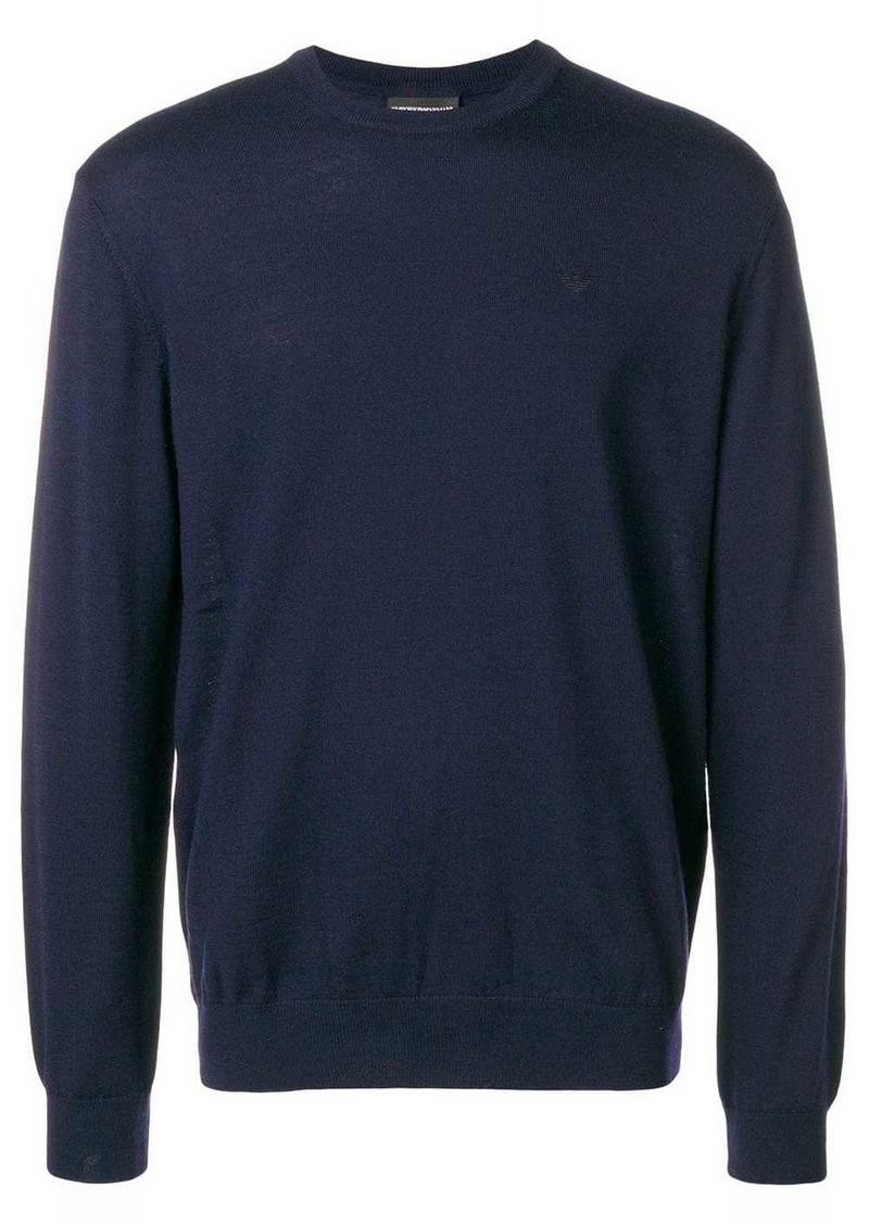Armani crew neck sweater