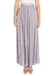 Armani Crinkled Maxi Skirt