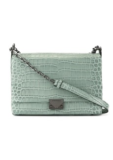 Armani crocodile effect crossbody bag