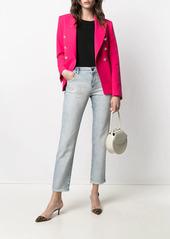 Armani cropped slim-fit jeans