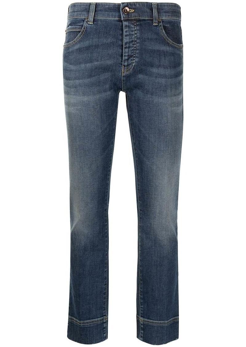 Armani cropped slim jeans