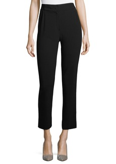 Armani Cropped Stretch-Wool Pants