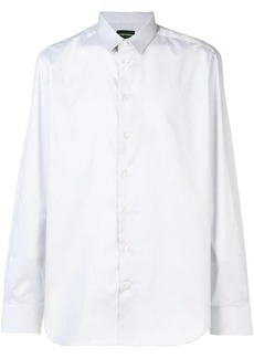 Armani curved hem shirt
