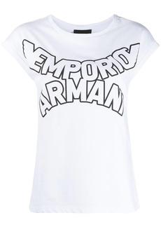 Armani curved logo T-shirt