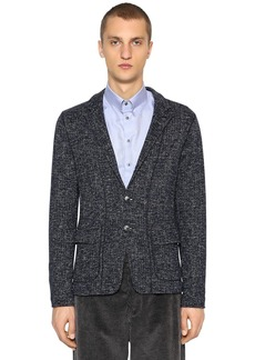 Armani Deconstructed Wool Blend Jacket