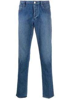 Armani denim slim fit jeans