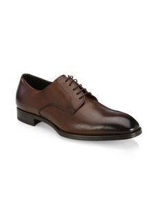 Armani Derby Leather Dress Shoes