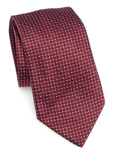 Armani Diamond Dot Silk-Blend Tie