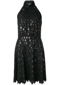 Armani diamond macramé dress